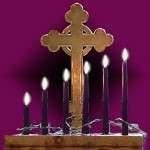 Tenebrae Candles Six