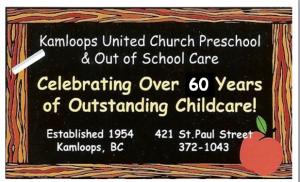 PreSchool 60 years