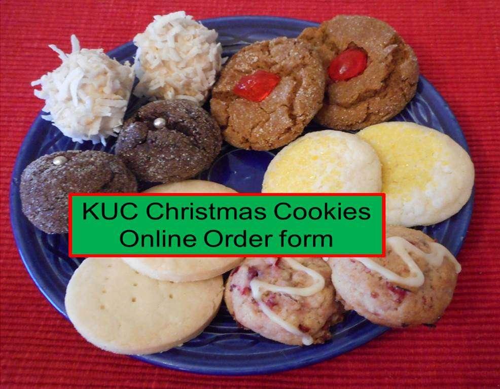 Kuc Christmas Cookie Orders Online Or By Phone Kamloops United Church