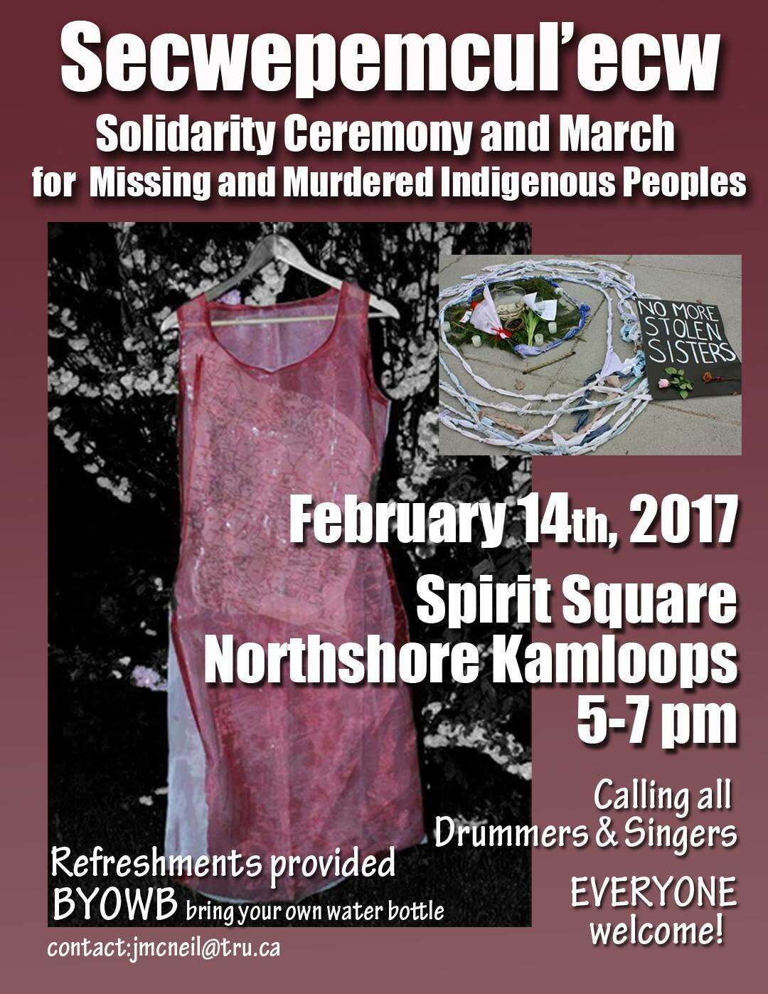 Rally For Missing Amp Murdered Indigenous Women Kamloops