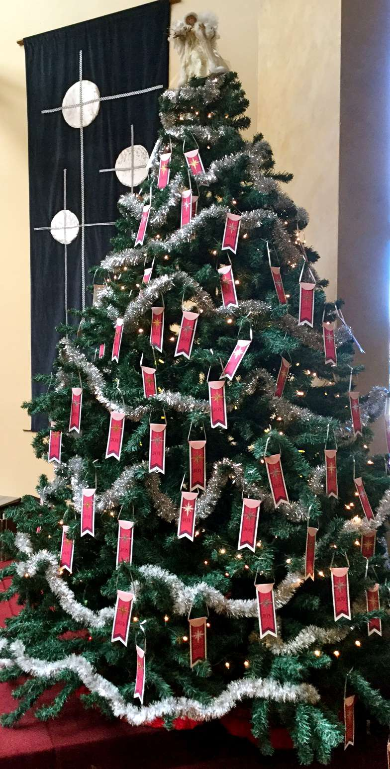 Christmas Giving Tree Ideas.Advent Giving Tree Of Joy Kamloops United Church